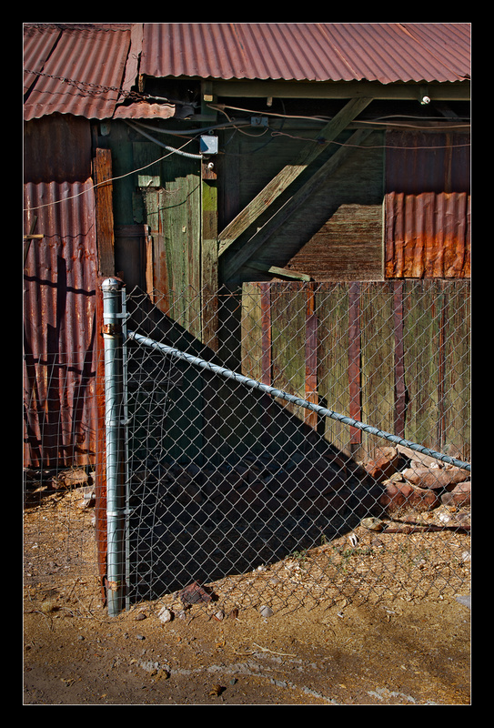Fence, Wood, and Wires - Building Elements