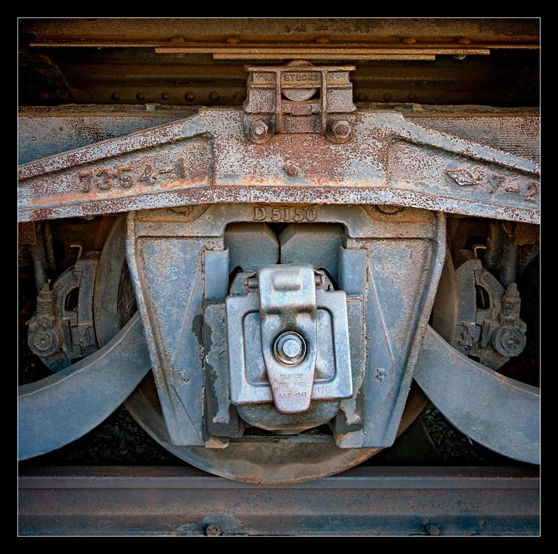 Center Wheel - Railroad
