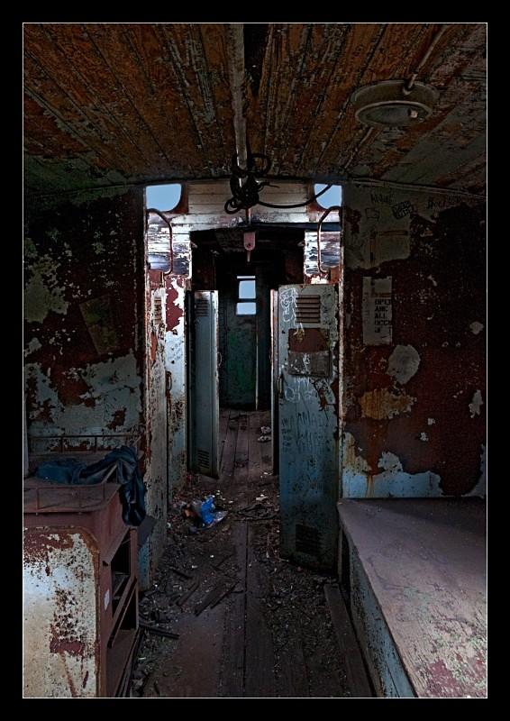 Abandoned Caboose - Railroad