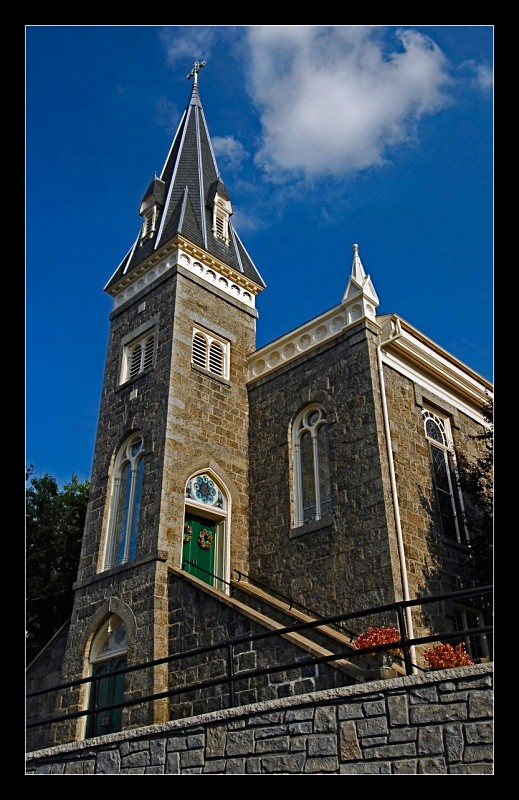 Ellicott Steeple - Architecture & Buildings