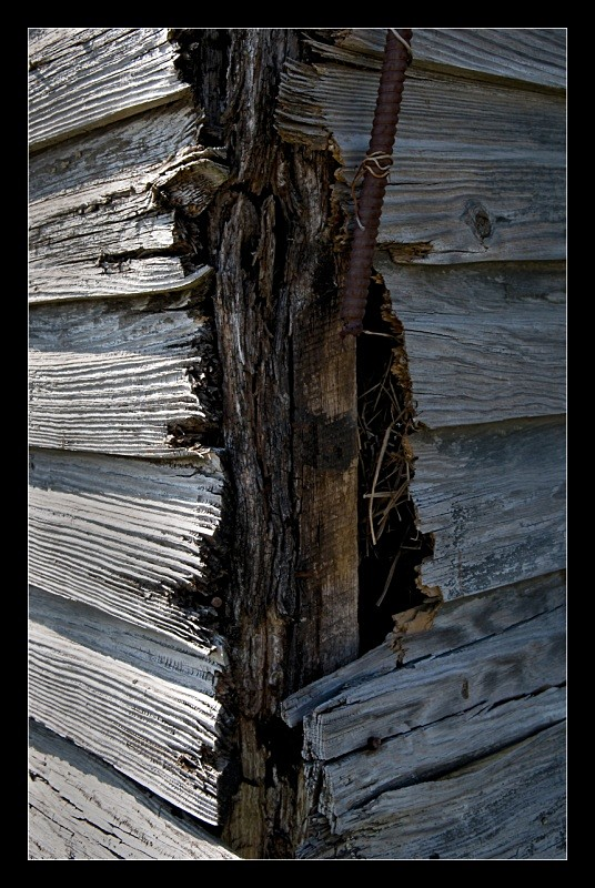 Rotted Corner - Building Elements