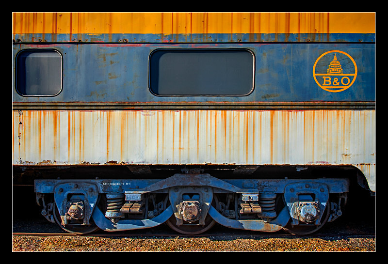 B&O Coach - Railroad