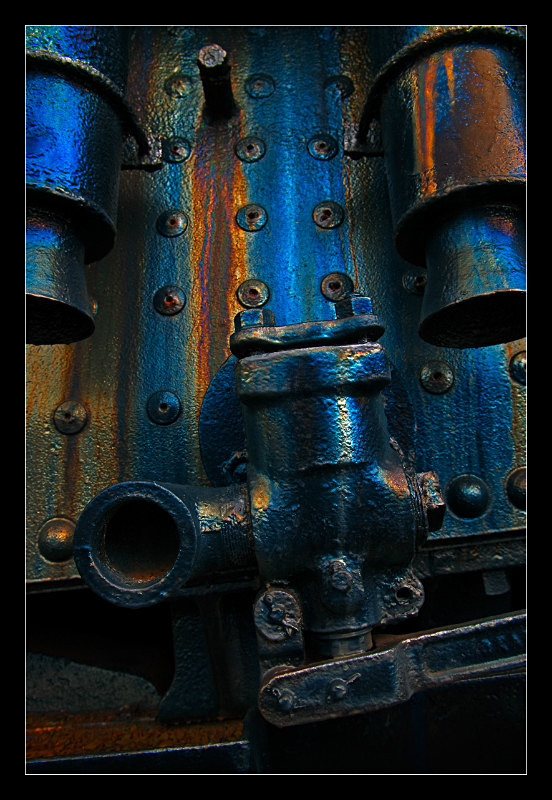 Blue Valve - Railroad