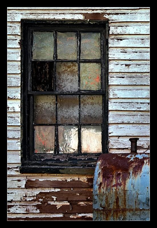 Black Window - Building Elements