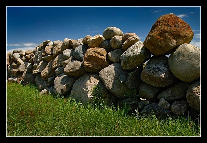 Rock Wall - Building Elements