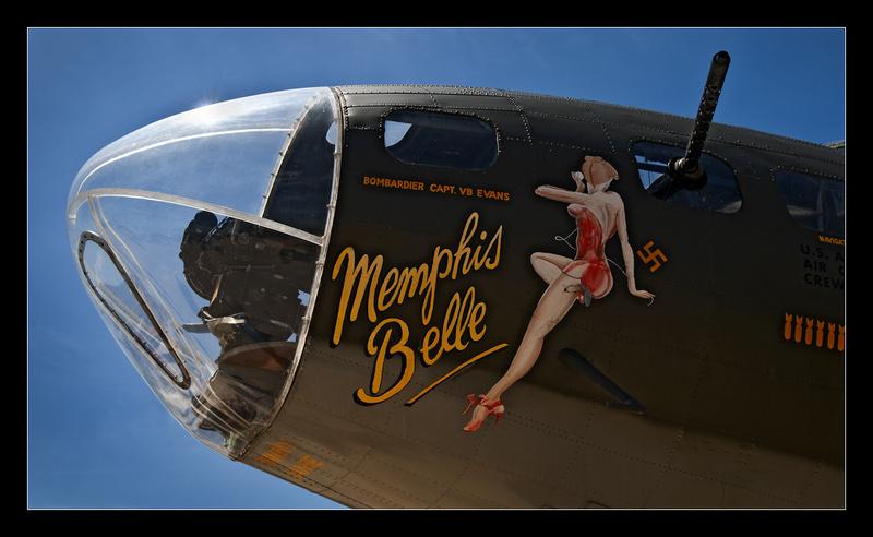 Memphis Belle Nose Art - Aircraft