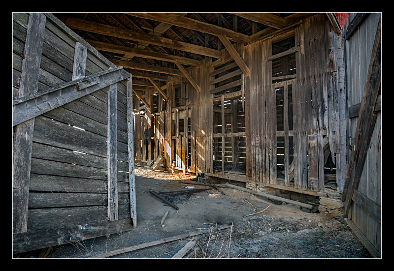 Frederick Barn Interior - Building Elements
