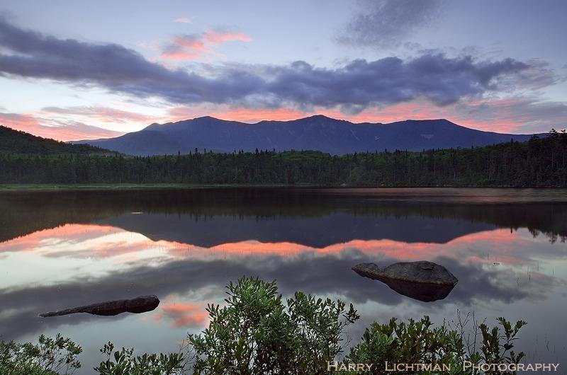 Lonesome Lake Ribbon Of Fire