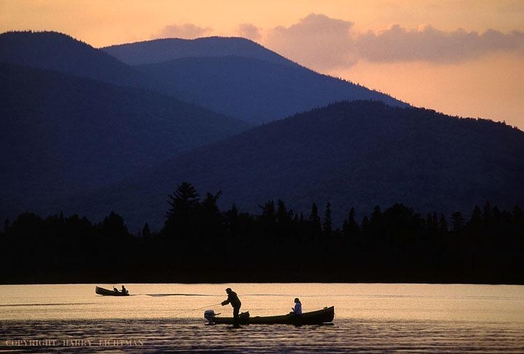 Last Cast - Kennebago Lake - Maine Coast & Mountains