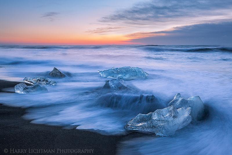 Tidal Flow - Iceland Winter