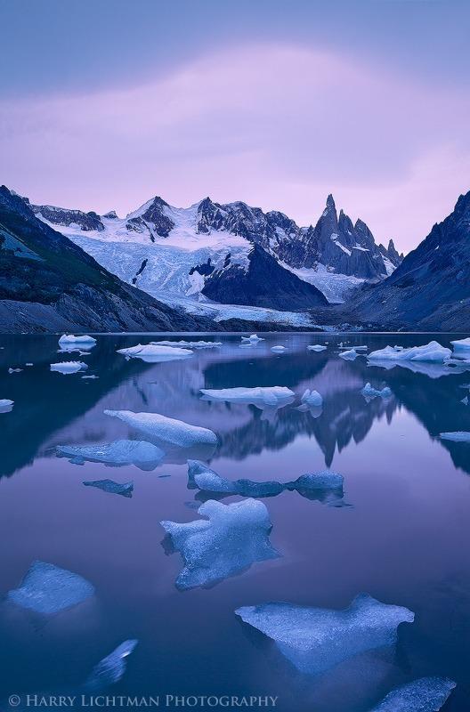 Afterglow - Lago Torre - Los Glaciares National Park