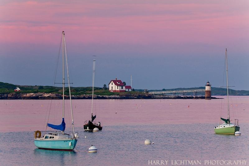Ram Island Light - Maine Coast & Mountains