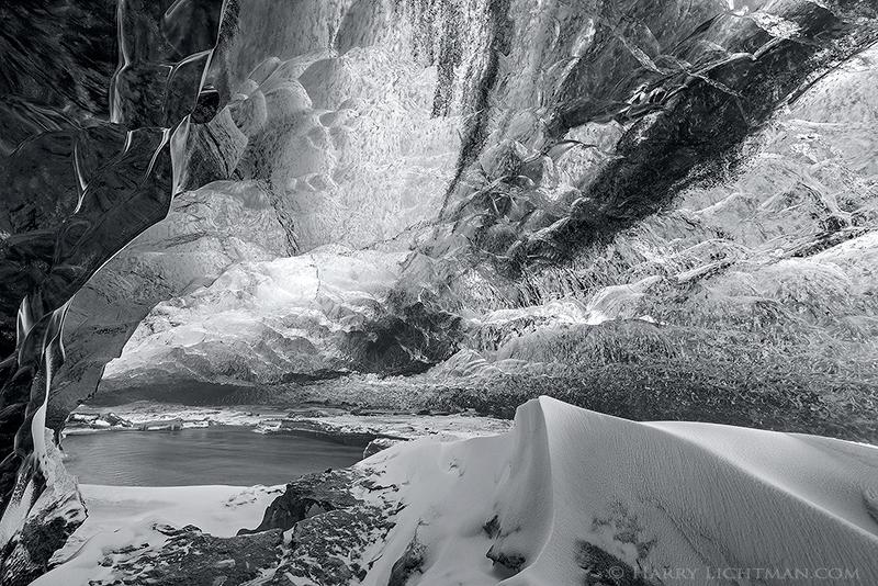 Ice Chamber - Iceland Winter