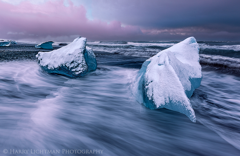 Release to the Sea - Iceland Winter