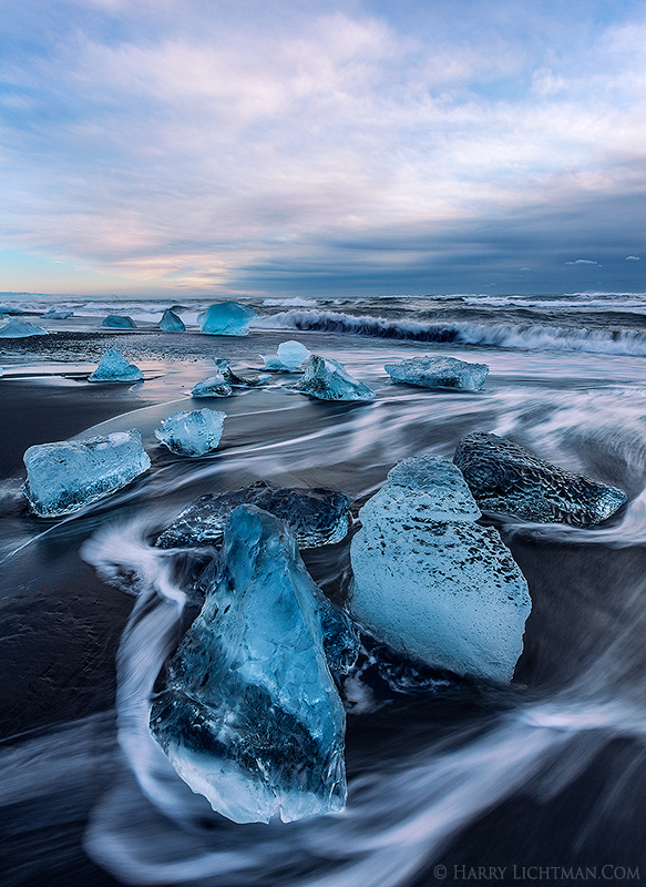 Luminous Coast - Iceland Winter