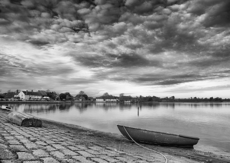 Langstone Harbour mono - Landscape and Travel