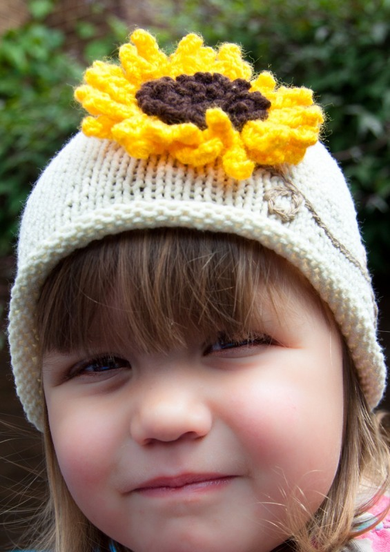 Sunflower hats 1-7555 - Marion Carrier Crafts