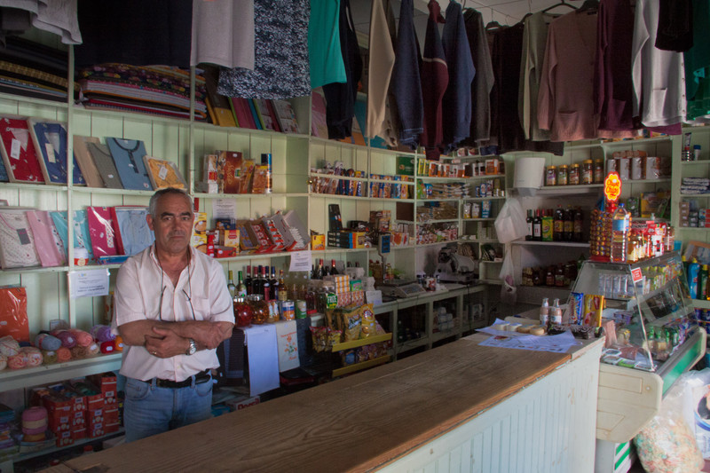 Shop in Mertola - Photojournal