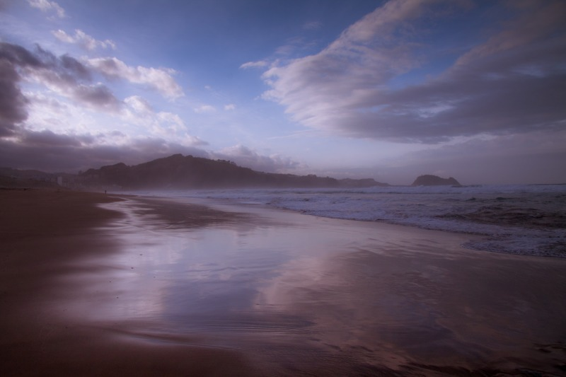 Beach  Zarautz  Spain-0243 - Travels