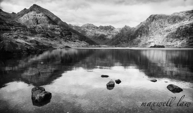 Loch Coruisk bw - Landscape and Travel