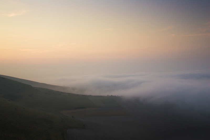 After Dusk, South Downs - Landscape Photography