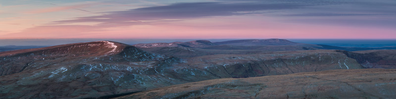 The Western Fans, Brecon Beacons.