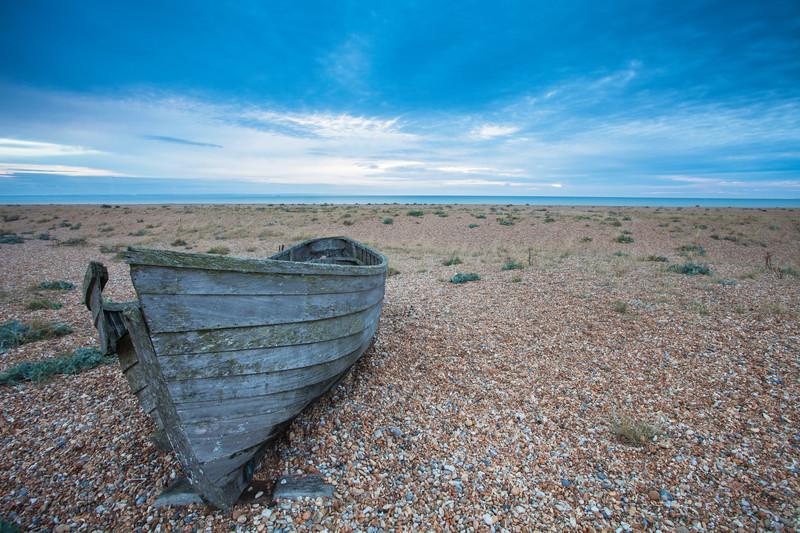Landscape photography of the Kent coast, UK.