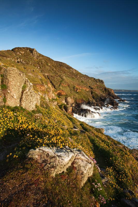 High quality landscape photography of the Cornish coast, UK
