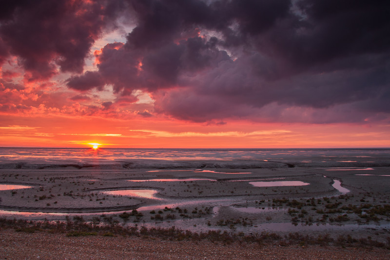 Fine art landscape photography taken from the stunning location of the Norfolk coastline in the UK.