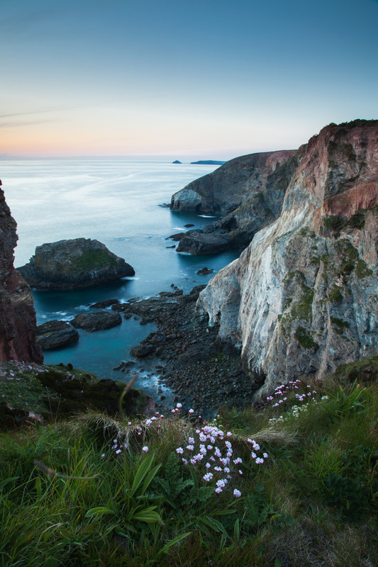 High quality landscape photography of the Cornish coast, UK