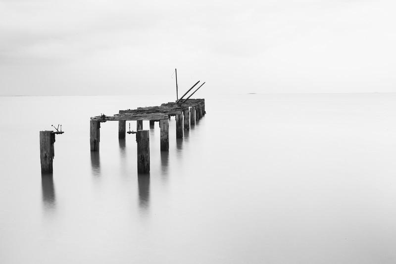 Pier. - Monochrome