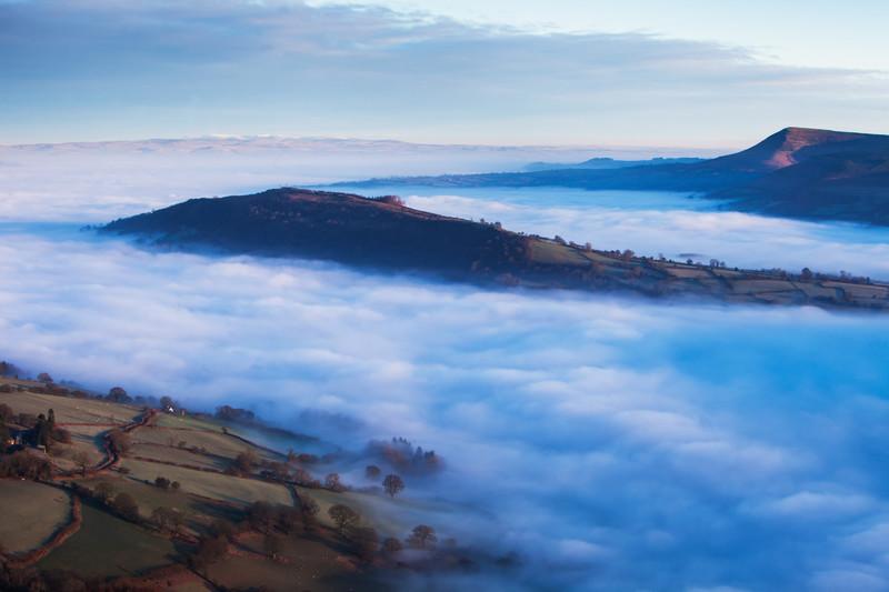 The Allt Mountain, Brecon Beacons, Wales