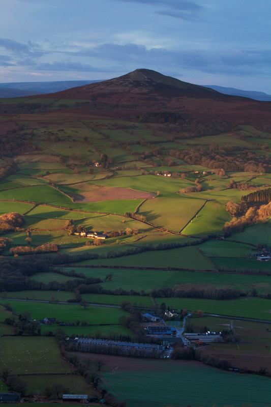 The Sugarloaf. Wales - New Work