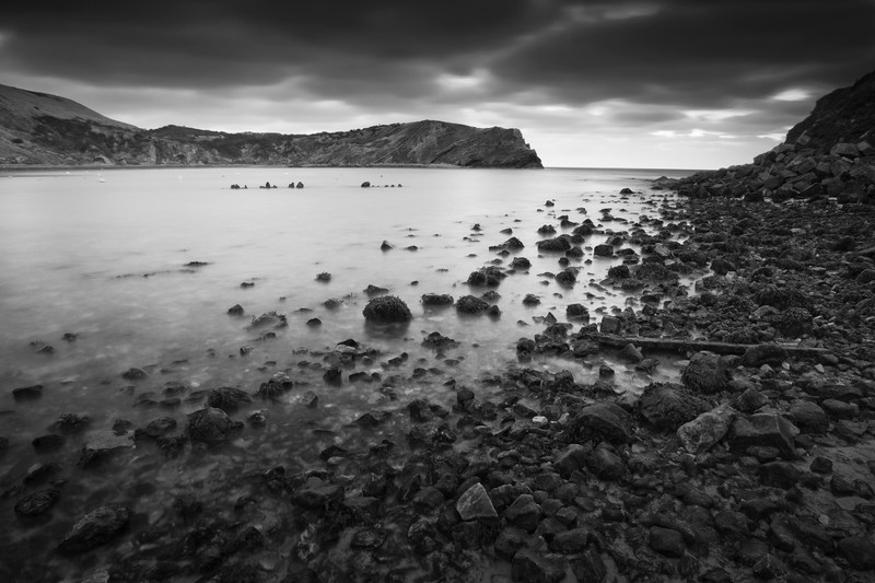 Lulworth. - Monochrome