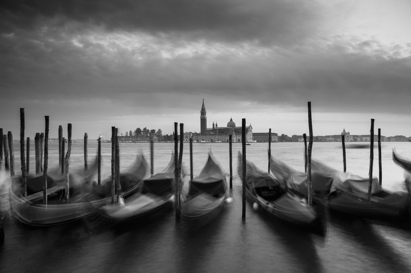 Venice. - Monochrome