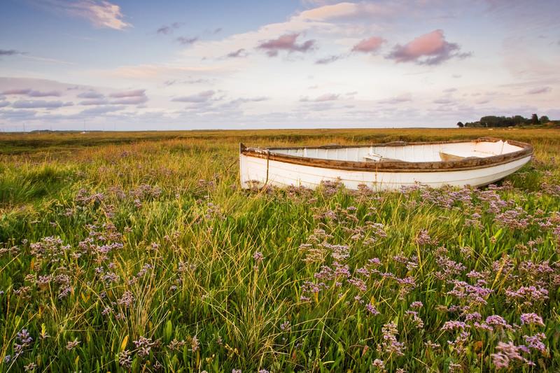 Landscape photography of the Norfolk coastline.