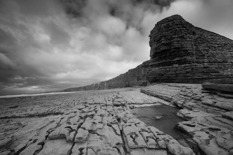 Nash Point. - Monochrome