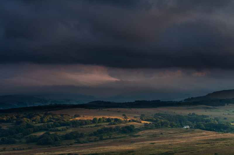 Storm in the Beacons
