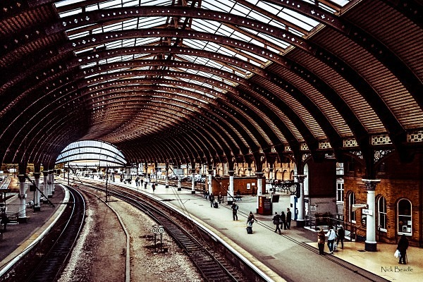 York Station Roof - Railways