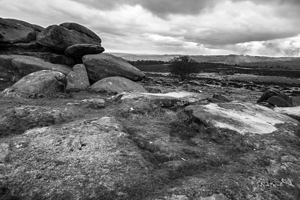 Owler Tor Landscape - Peak District