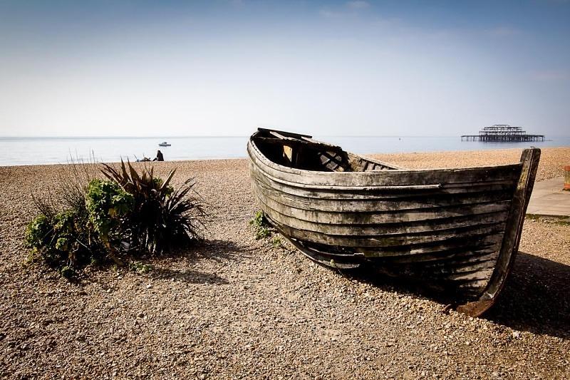Brighton Old Pier - Landscapes
