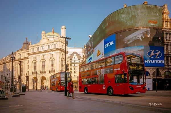 Picadilly Circus - Views of London
