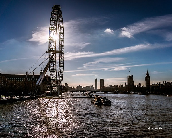 Sun Behind the Eye - Views of London
