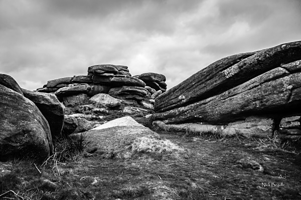 Rocks at Owler Tor - Peak District