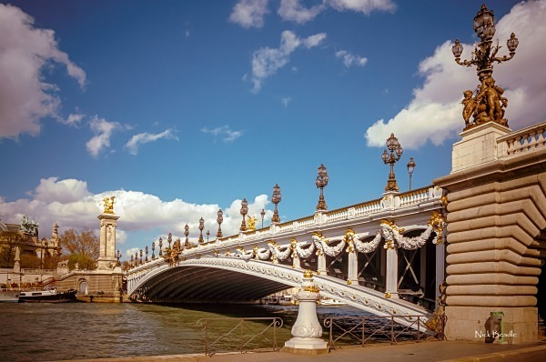 Bridge over the Seine - Paris