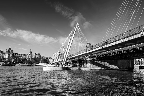 Hungerford Bridge - Views of London