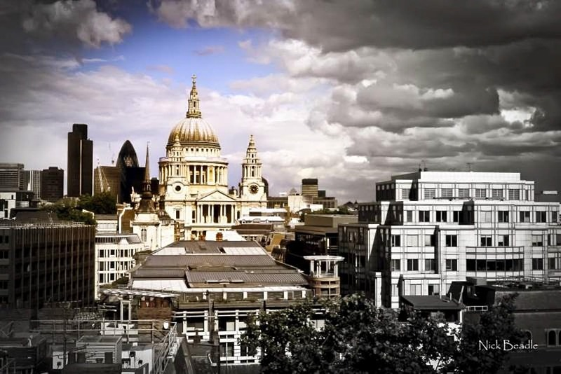 St. Paul's Split Tone - Buildings and Structures