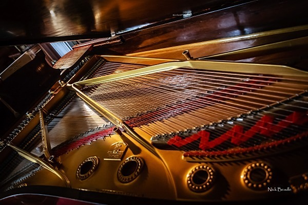 Inside a Grand Piano - Miscellaneous