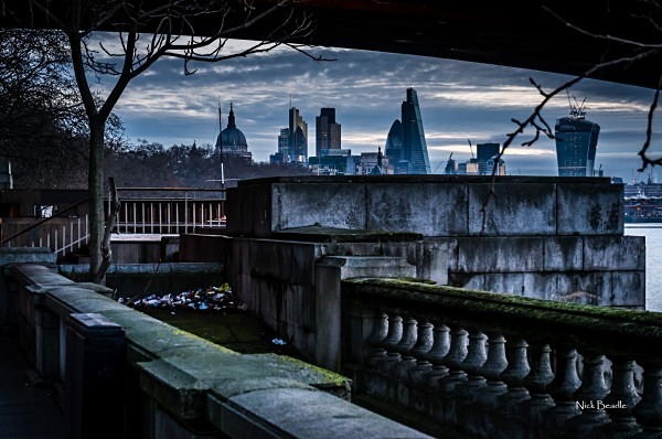 View Through a Bridge - Views of London