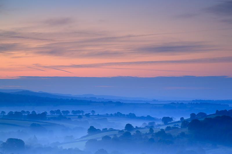 Mary Tavy Vista - Dartmoor Landscapes Prints